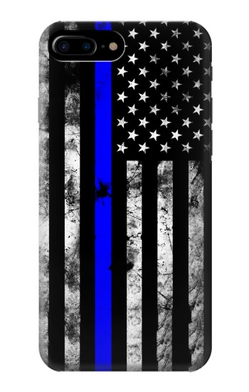 Printed Thin Blue Line USA HTC One Max Case