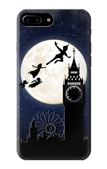 Printed Peter Pan Fly Fullmoon Night HTC One Max Case