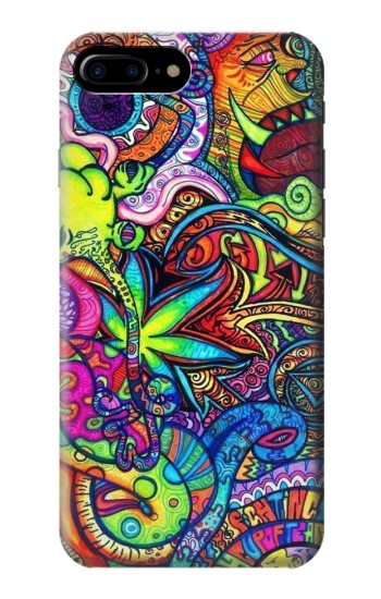Printed Colorful Art Pattern HTC One Max Case