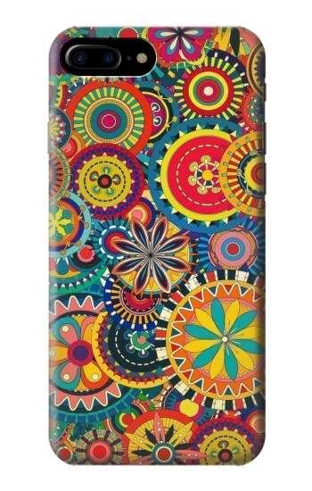 Printed Colorful Pattern HTC One Max Case
