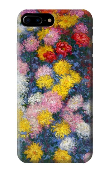 Printed Claude Monet Chrysanthemums HTC One Max Case