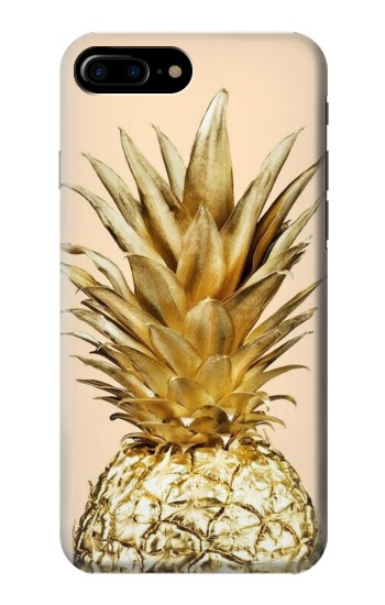 Printed Gold Pineapple HTC One Max Case