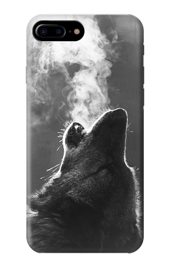Printed Wolf Howling HTC One Max Case