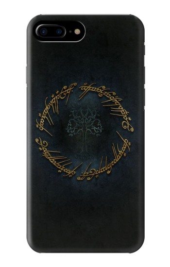 Printed Lord of The Rings Ring Elf Writing HTC One Max Case