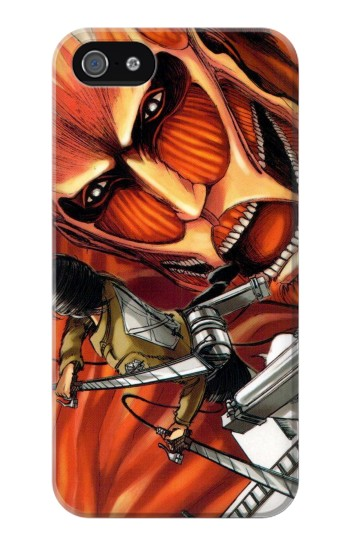 Printed Attack on Titan Iphone 4 Case