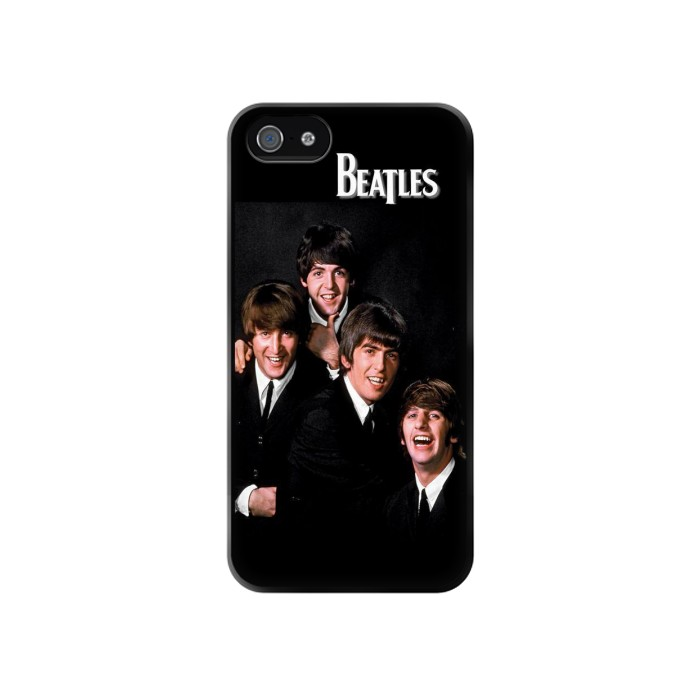 Printed The Beatles Iphone 4 Case