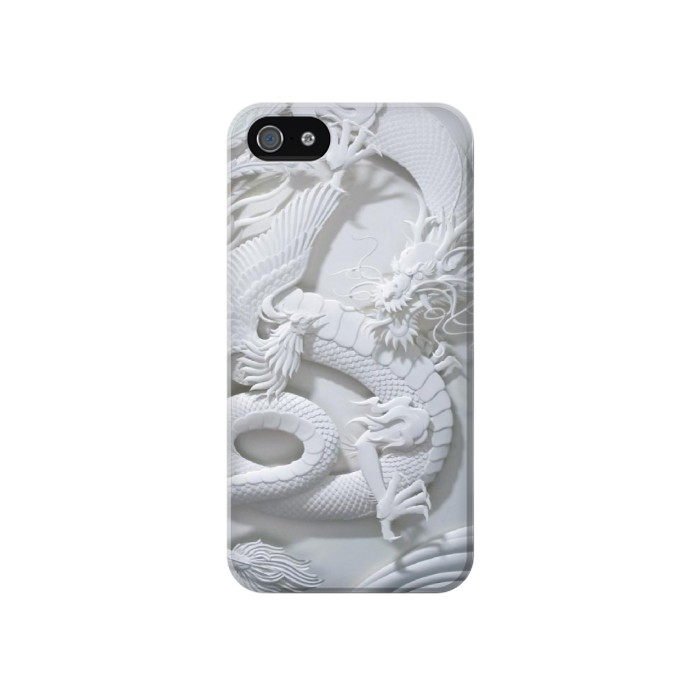 Printed Dragon Carving Iphone 4 Case