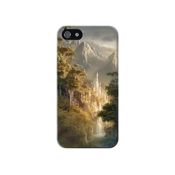 Printed Fantasy Art Iphone 4 Case