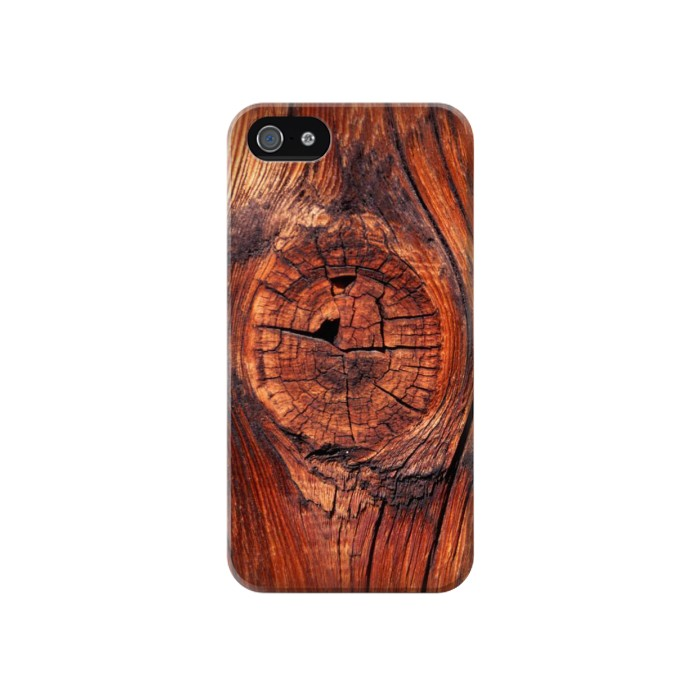 Printed Wood Iphone 4 Case