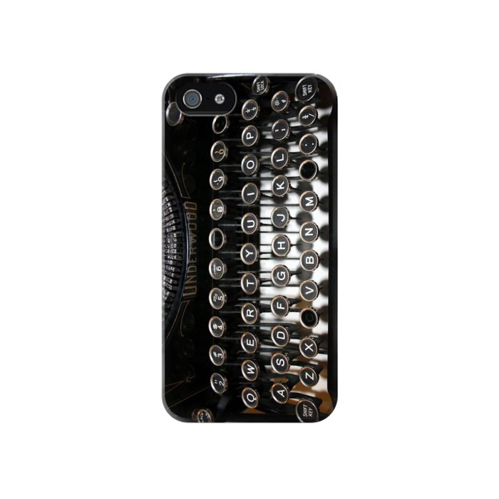 Printed Typewriter Iphone 4 Case