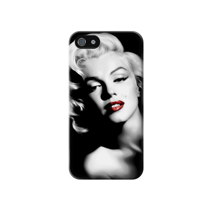 Printed Marilyn Monroe Iphone 4 Case