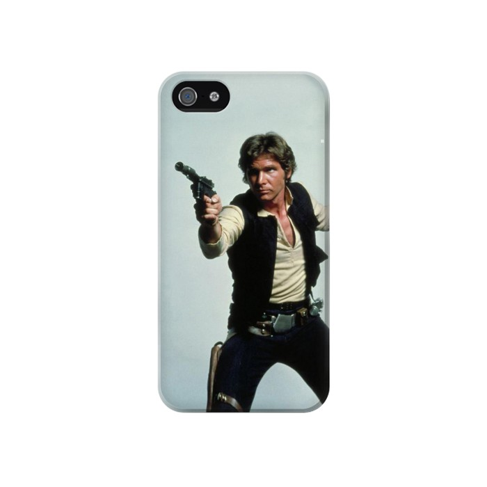 Printed Han Solo Iphone 4 Case