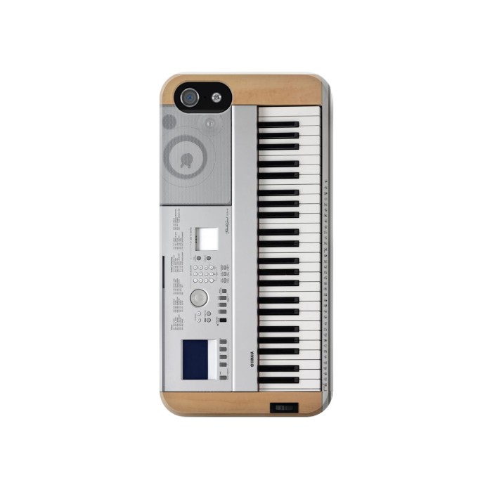 Printed Keyboard Digital Piano Iphone 4 Case
