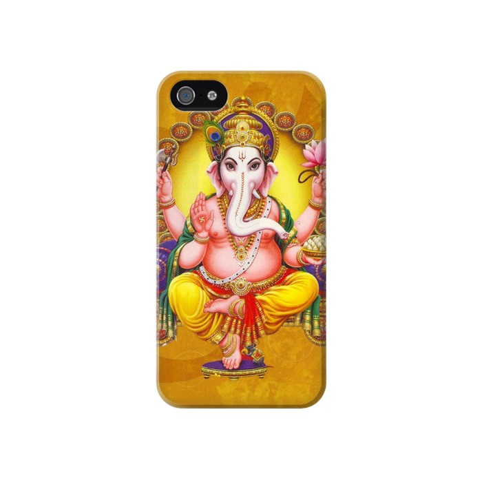 Printed Lord Ganesh Hindu God Iphone 4 Case