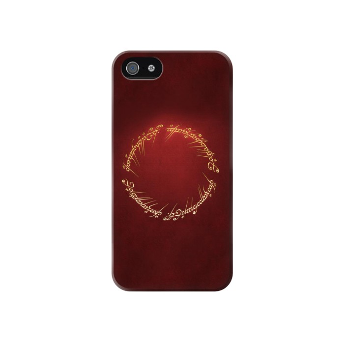 Printed Lord of the Ring Iphone 4 Case