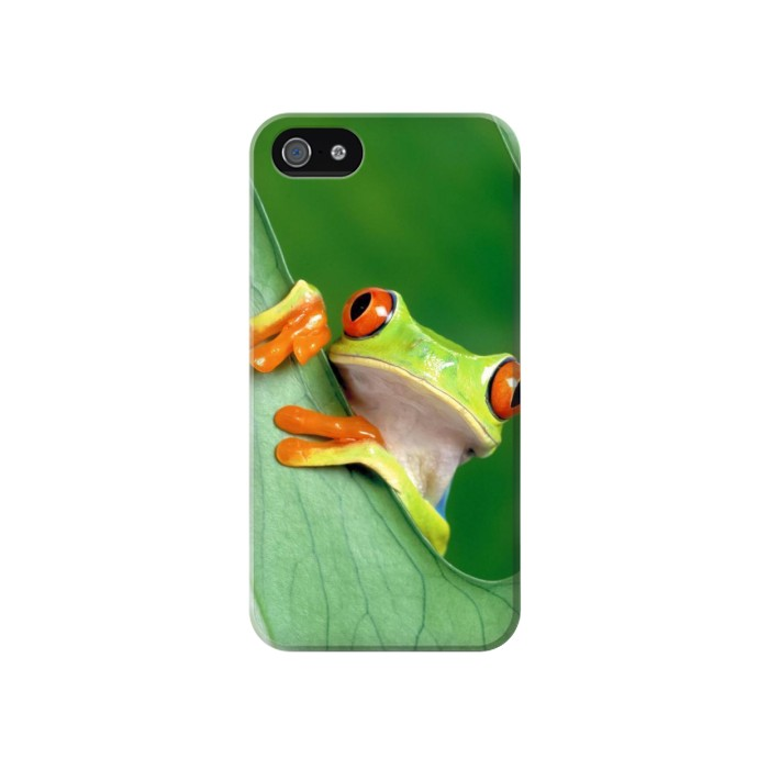 Printed Little Frog Iphone 4 Case