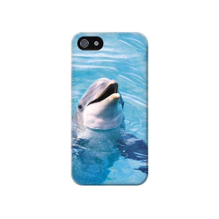 Printed Dolphin Iphone 4 Case