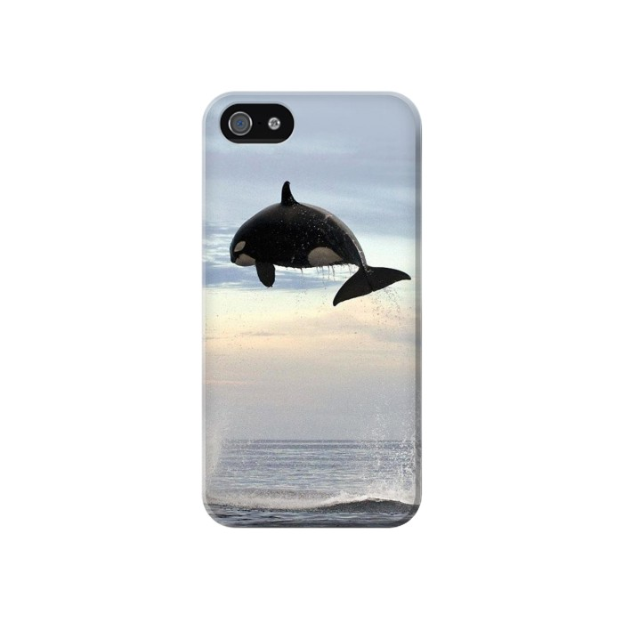 Printed Killer whale Orca Iphone 4 Case