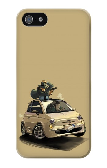 Printed Lupin The Third Iphone 4 Case