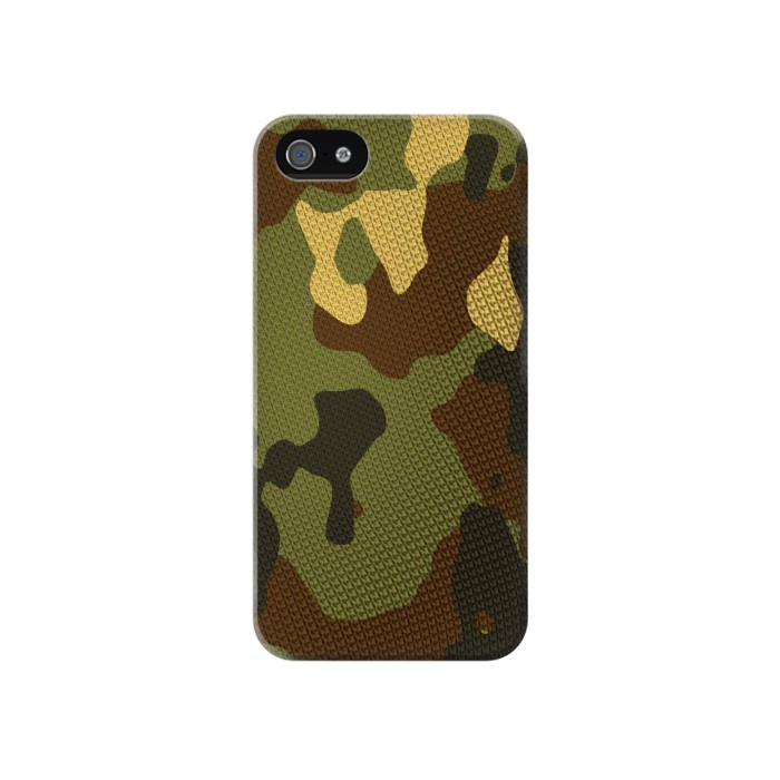Printed Camo Camouflage Graphic Printed Iphone 4 Case