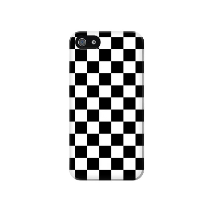 Printed Checkerboard Chess Board Iphone 4 Case