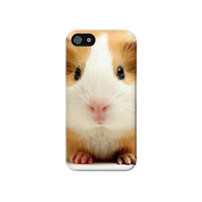 Printed Cute Guinea Pig Iphone 4 Case