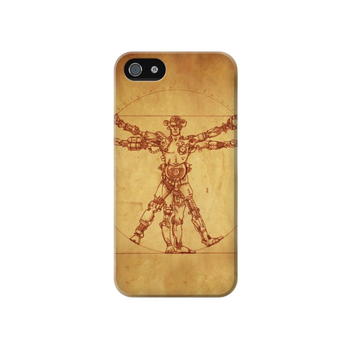 Printed Steampunk Frankenstein Iphone 4 Case