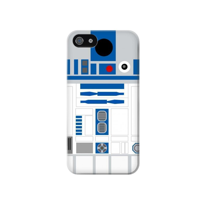 Printed R2D2 Minimalist Iphone 4 Case