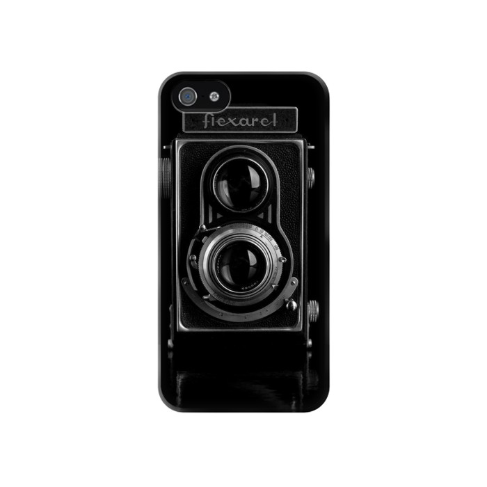 Printed Vintage Camera Iphone 4 Case