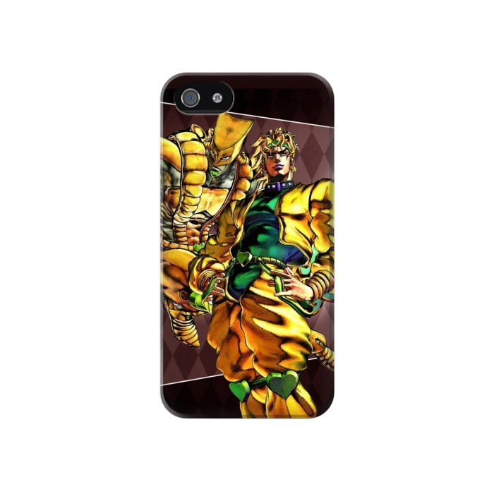 Printed Jojo Bizarre Adventure Dio Brando The World Iphone 4 Case