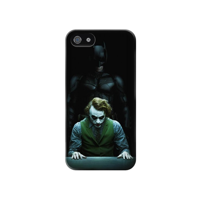 Printed Batman Joker Iphone 4 Case