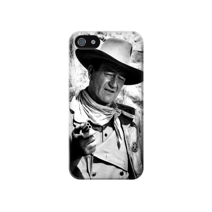 Printed John Wayne The Searchers Iphone 4 Case