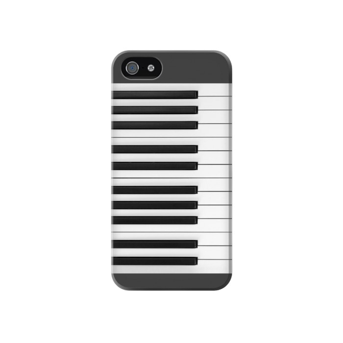 Printed One Octave Piano Iphone 4 Case