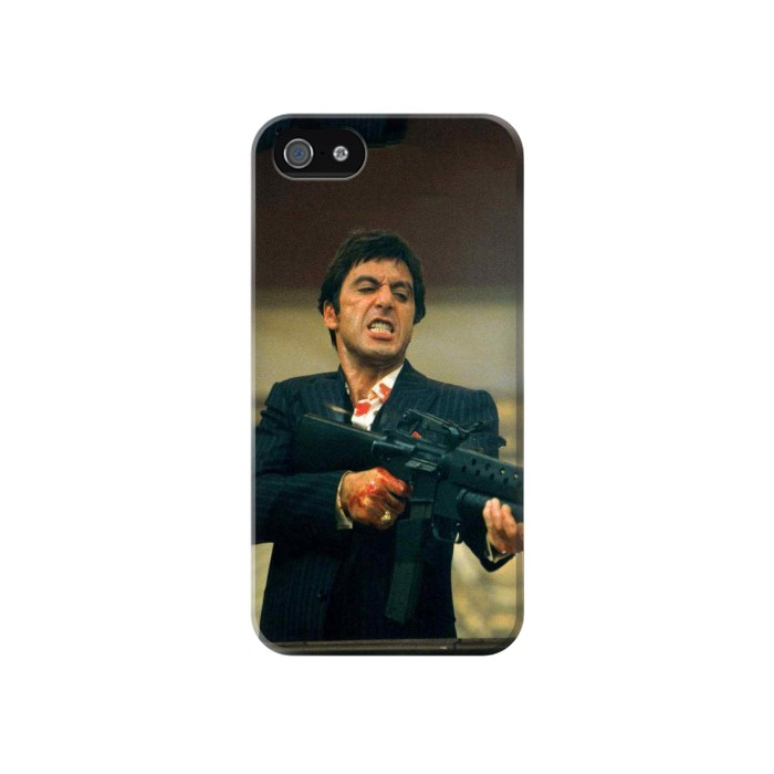 Printed Scarface Al Pacino Iphone 4 Case