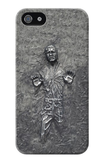 Printed Han Solo in Carbonite Iphone 4 Case