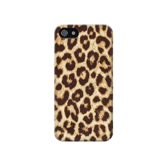 Printed Leopard Pattern Graphic Printed Iphone 4 Case