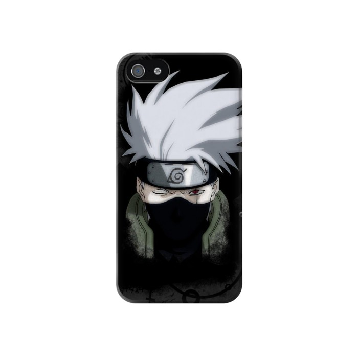 Printed Hatake Kakashi 6th Hokage Naruto Iphone 4 Case