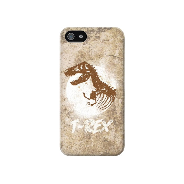 Printed T-Rex Jurassic Fossil Iphone 4 Case