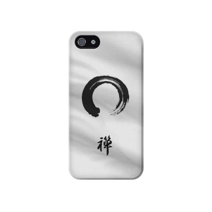 Printed Zen Buddhism Symbol Iphone 4 Case