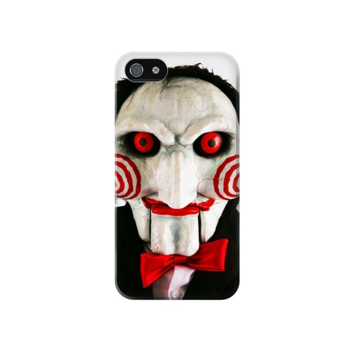Printed The Jigsaw Killer Iphone 4 Case