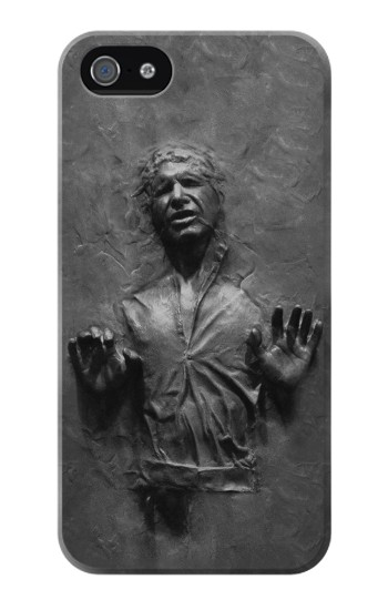 Printed Han Solo Frozen in Carbonite Iphone 4 Case