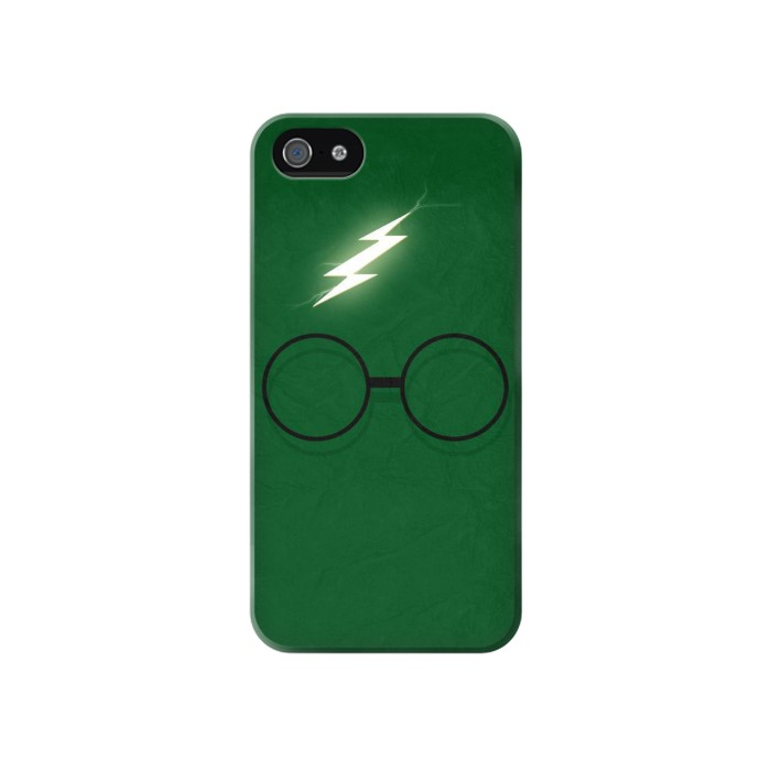 Printed Harry Potter Minimalist Iphone 4 Case