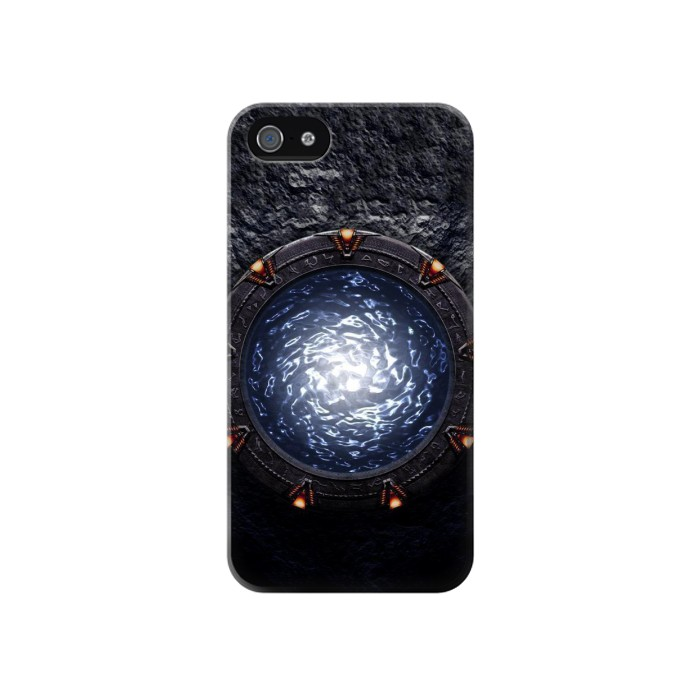Printed The Stargate Orokin Portal Iphone 4 Case