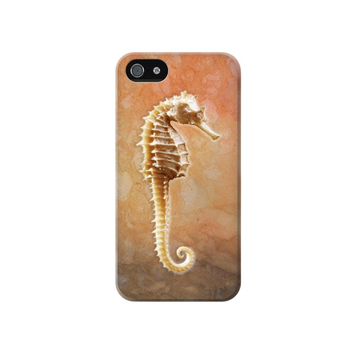 Printed Seahorse Skeleton Iphone 4 Case