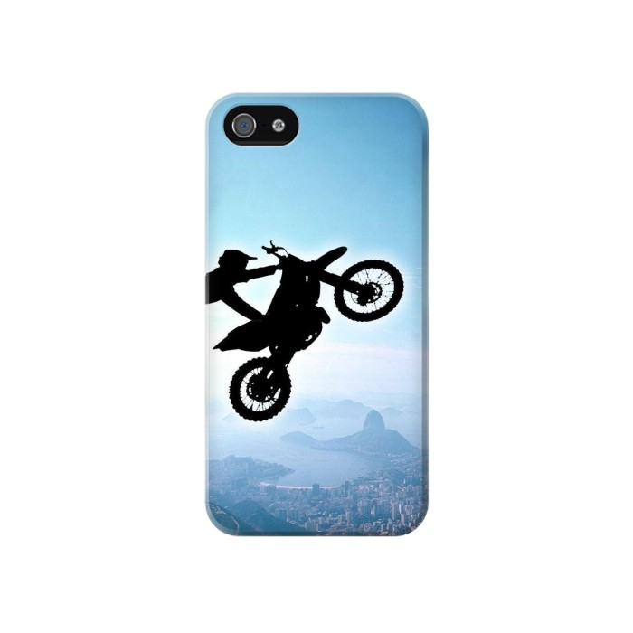 Printed Extreme Motocross Iphone 4 Case