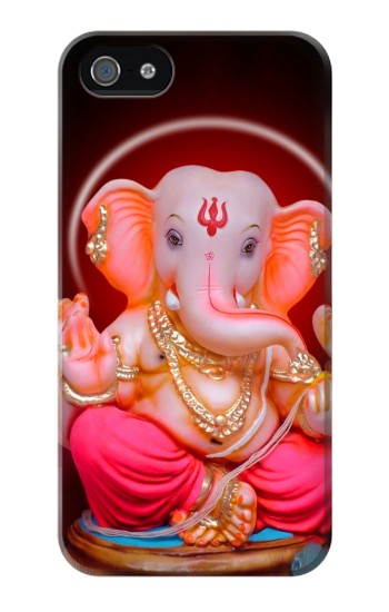 Printed Ganapati God Ganesha Lord Of Success Iphone 4 Case