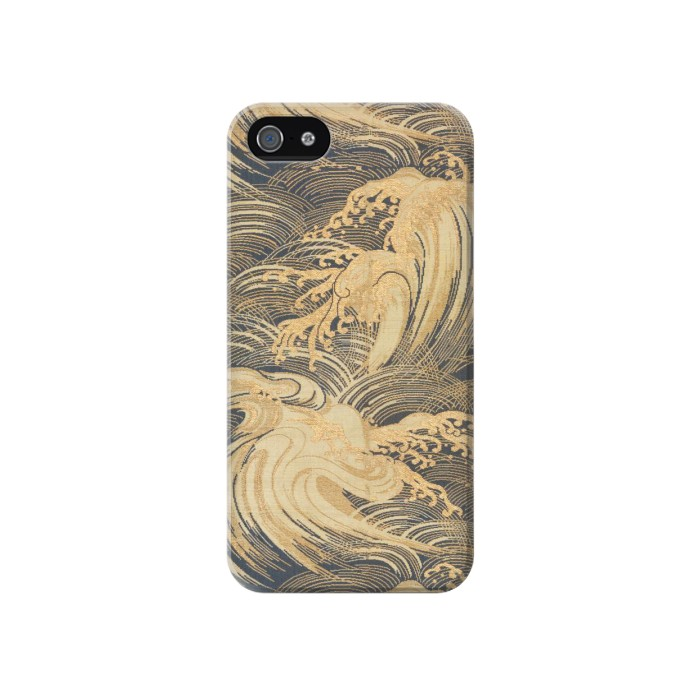 Printed Obi With Stylized Waves Iphone 4 Case