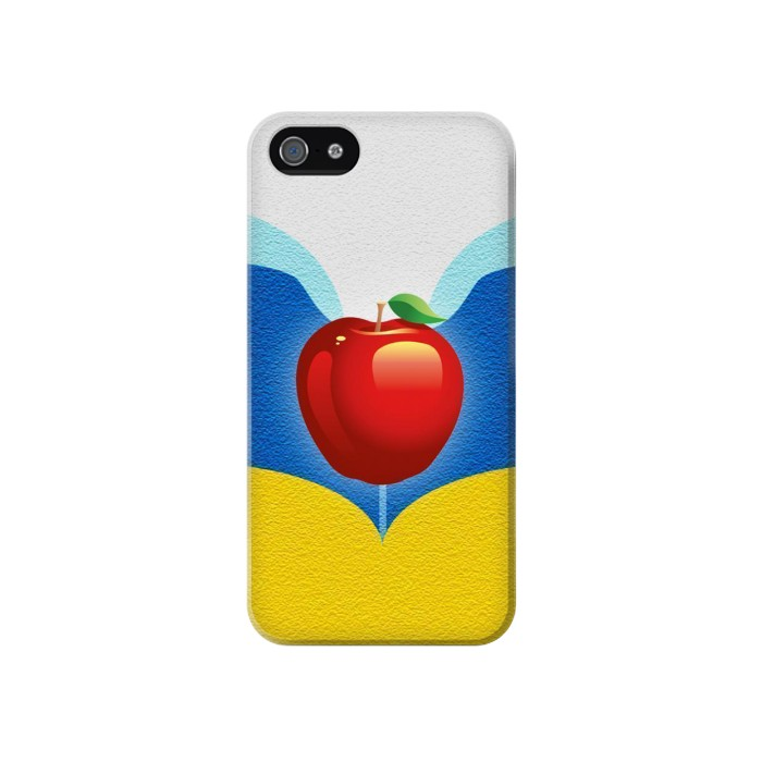 Printed Snow White Poisoned Apple Iphone 4 Case