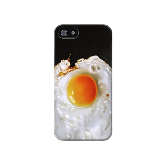 Printed Fried Egg Iphone 4 Case