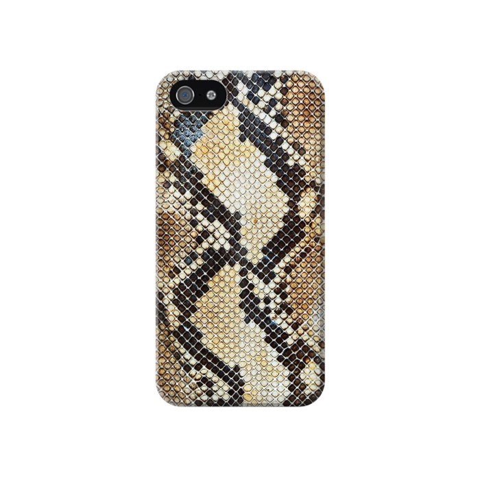 Printed Snake Skin Texture Iphone 4 Case